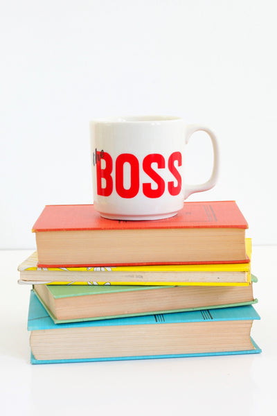 SOLD - Vintage 'The Boss' Mug