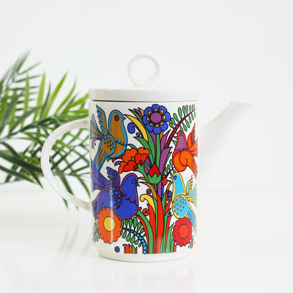 SOLD - Mid Century Villeroy & Boch Acapulco Coffee Pot