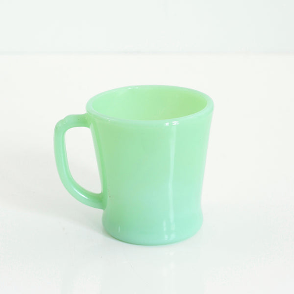 SOLD - Mid Century Jadeite Fire King Mug