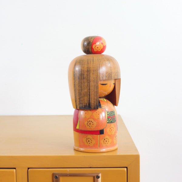 SOLD - Vintage Kokeshi Doll