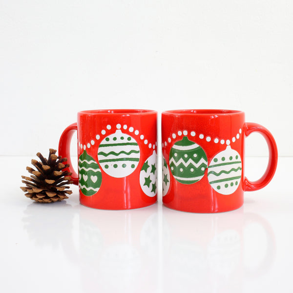 Vintage Waechtersbach West Germany Christmas Ornaments Mug