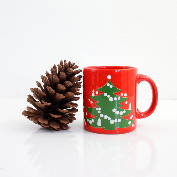 Vintage Waechtersbach West Germany Christmas Tree Mug (Large Trees)