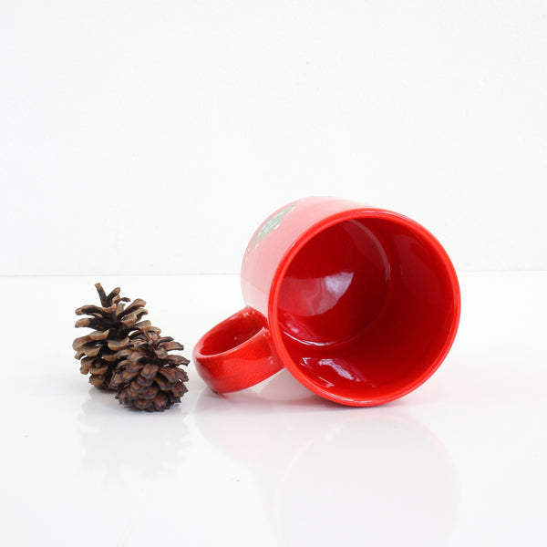 SOLD - Vintage Waechtersbach West Germany Christmas Tree Mug (Small Trees)