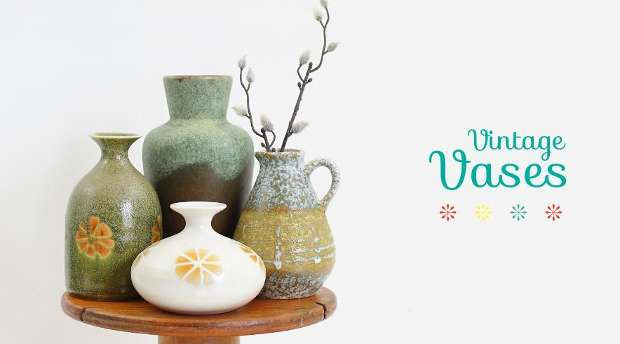 Wise Apple Vintage Vases
