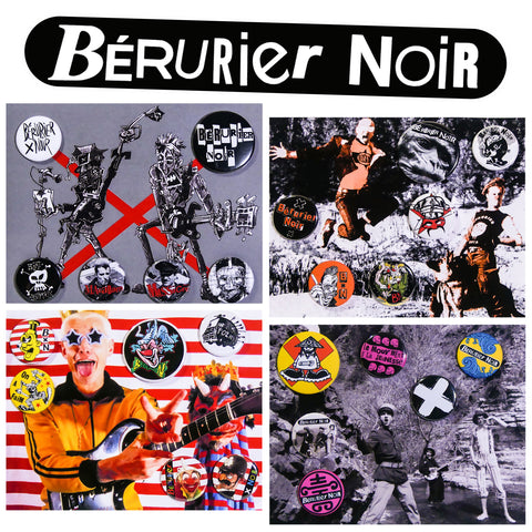 Badges - Bérurier Noir - Archives de la Zone Mondiale