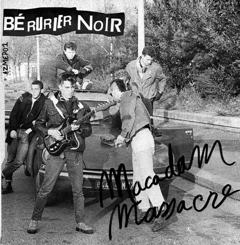 Macadam Massacre EP - Archives de la Zone Mondiale