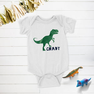 Dinosaur Birthday Party Personalized Shirt