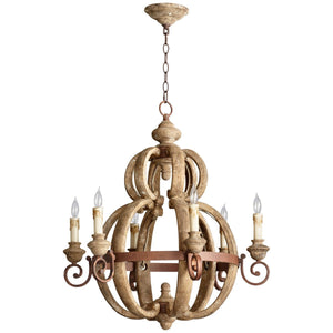 Atocha Six Light Chandelier