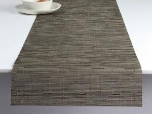 Chilewich Bamboo Runner | Charcoal - GDH | The decorators department Store