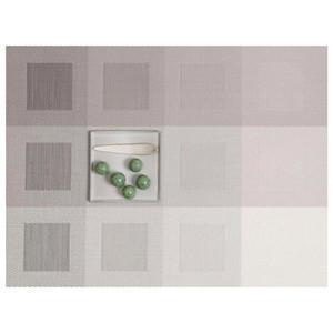 CHILEWICH Engineered Squares Placemats | Light Grey - GDH | The decorators department Store