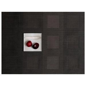 CHILEWICH Engineered Squares Placemats | Steel - GDH | The decorators department Store