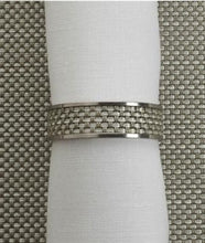 Chilewich | Napkin Rings S/4 | Aloe - GDH | The decorators department Store