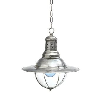 Vintage-style Factory Light with Glass Dome - GDH | The decorators department Store