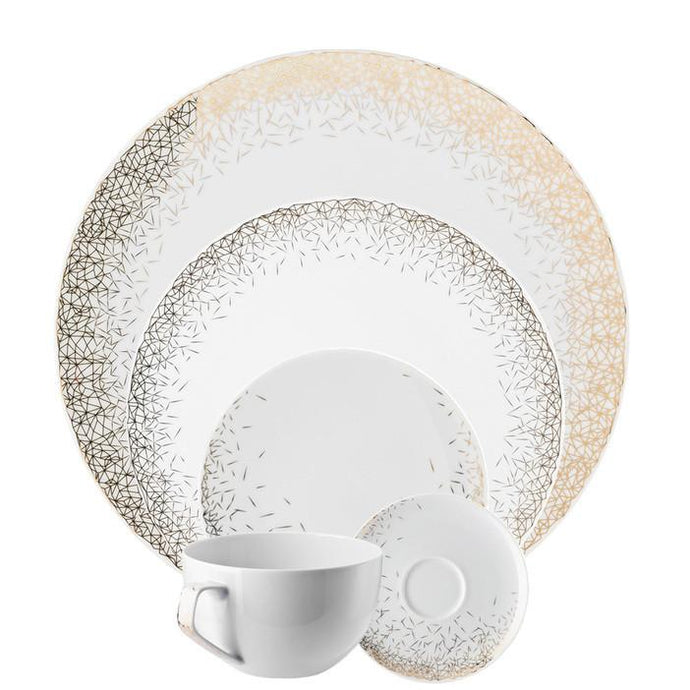 TAC Palazzo - White 5 Piece Placesetting