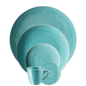 Rosenthal Classic Mesh Aqua  5 Piece Place Setting (5 pps) - GDH | The decorators department Store