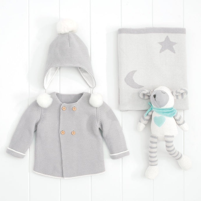 Grey Sweater Lambie Gift Bundle
