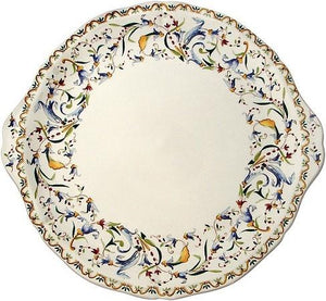 GIEN Toscana Eared Cake Platter - GDH | The decorators department Store
