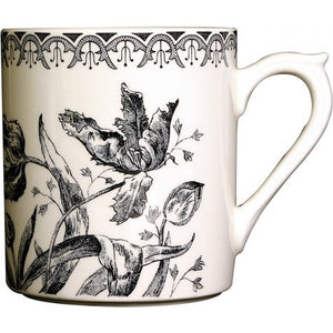 Gien Tulipes Noires Coffee Mug - GDH | The decorators department Store