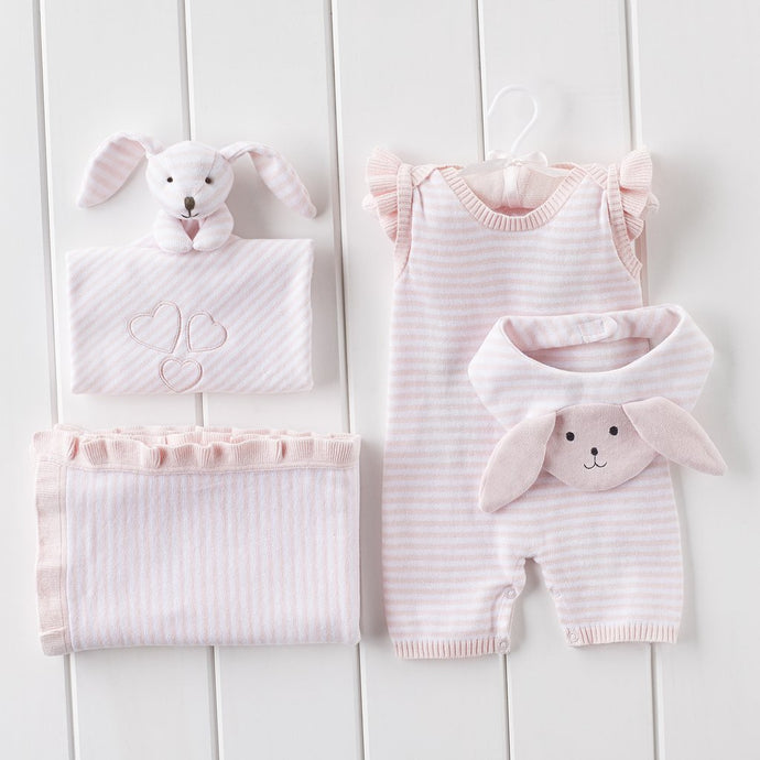 4 PC Ministripe Gift Bundle | Pink
