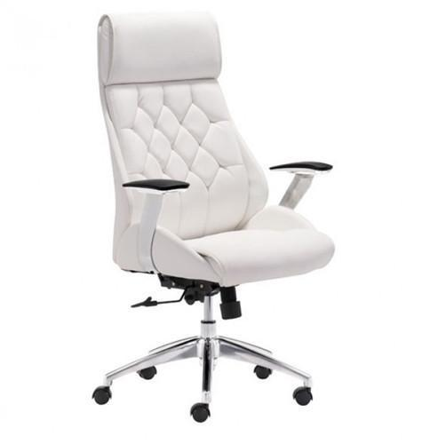 Boutique Office Chair | White - GDH | The decorators department Store