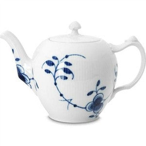 Blue Fluted Mega Teapot - GDH | The decorators department Store