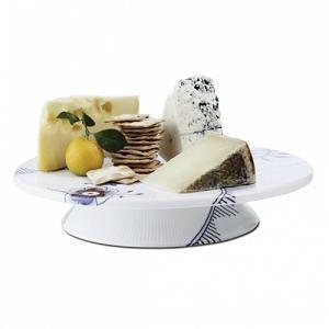 Blue Fluted Mega Cake Plate - GDH | The decorators department Store