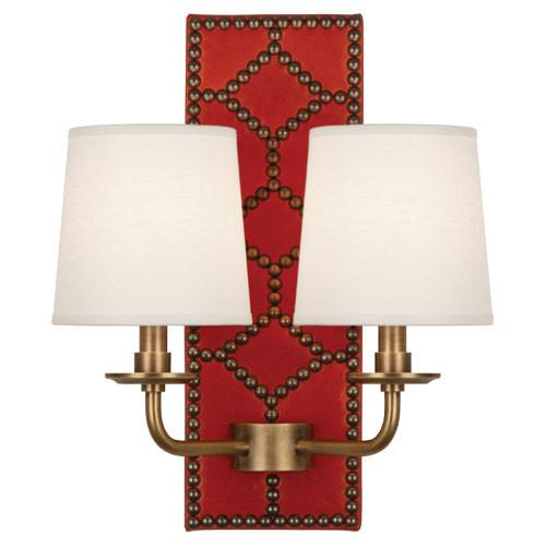Williamsburg Lightfoot Wall Sconce | Red