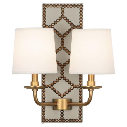 Williamsburg Lightfoot Wall Sconce | White