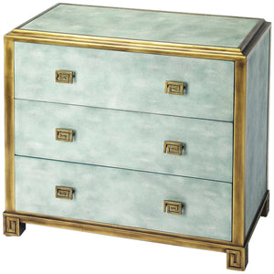 Artemis Shagreen Console Chest