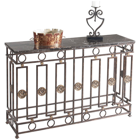 Albert Metal Console - GDH | The decorators department Store