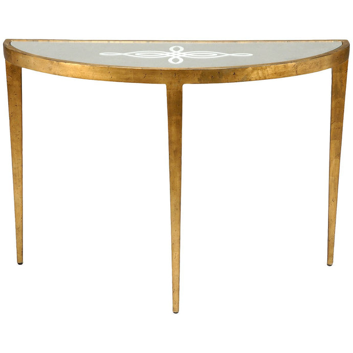 Lisa Kahn Celtic Knot Gold Console