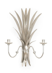 Wheat Iron with Silver Sconce