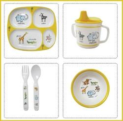 Jungle Animals Melamine Dinnerware - GDH | The decorators department Store
