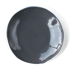 Stoneware Soup Plate | Slate Gray S/4