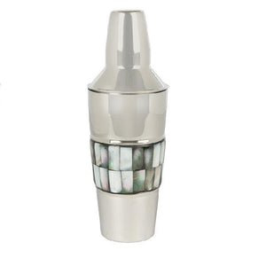 BARCLAY BUTERA Mother of Pearl Cocktail Shaker