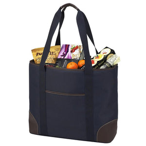 Extra Large Insulated Cooler Tote | Classic Navy - GDH | The decorators department Store