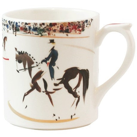 Gien | Cavaliers Coffee Mug Dressage - GDH | The decorators department Store