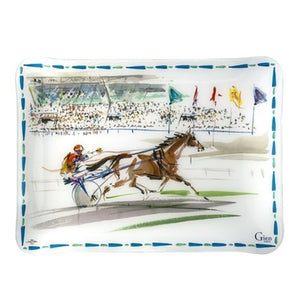 Gien  Cavaliers Acrylic Serving Tray - GDH | The decorators department Store