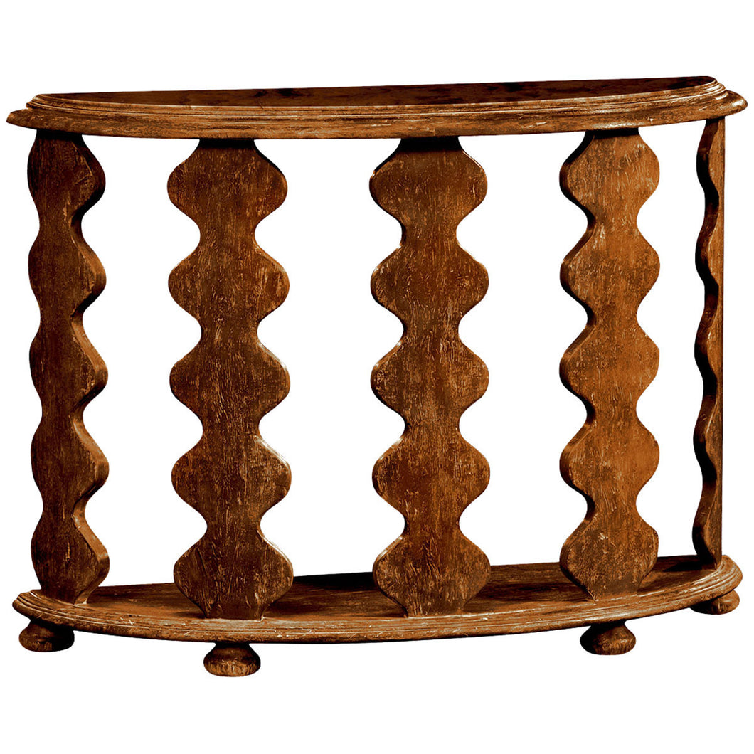 Artisan Demilune Console Table