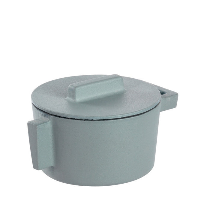 Terra Cotto Cast Iron Saucepot with Lid | Ginger - GDH | The decorators department Store
