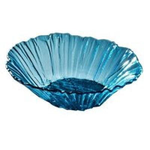 Annieglass Ultramarine Fluted Round Serving Bowl - GDH | The decorators department Store