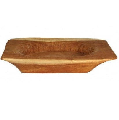 Montes Doggett Rectangular Wood Platter - GDH | The decorators department Store