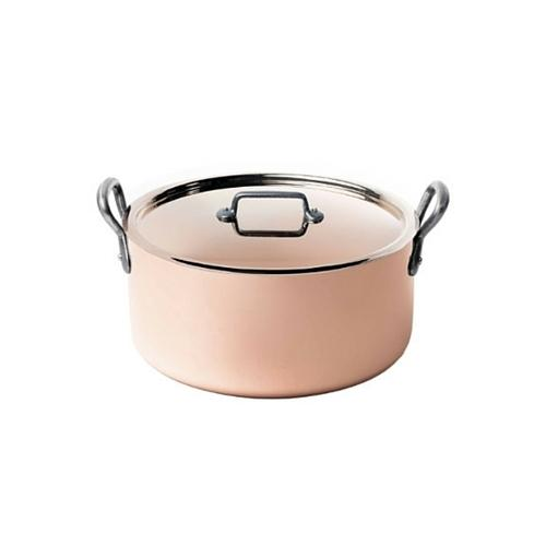 de Buyer Copper Stewpan w/Lid - 11-in, 8.45 qt*