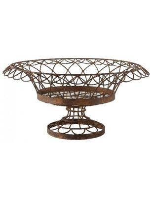 Large Round Petal Basket - GDH | The decorators department Store