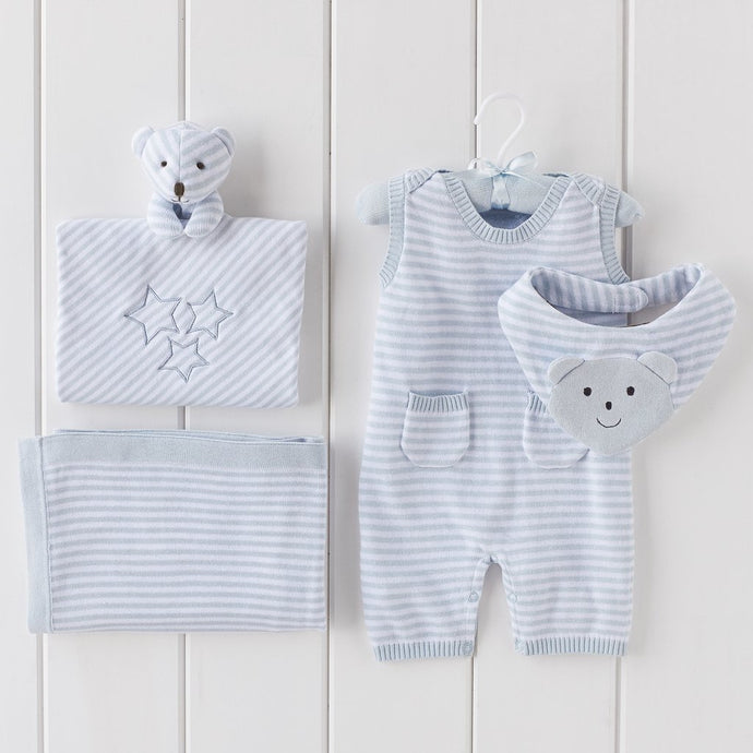 4 PC Ministripe Gift Bundle | Blue