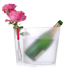 Champagne Bucket and Vase