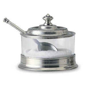 Match Pewter Jam Pot with Spoon - GDH | The decorators department Store