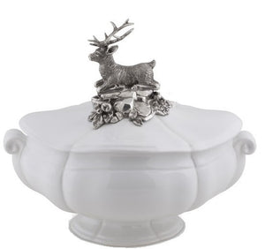 Stag Soup Tureen