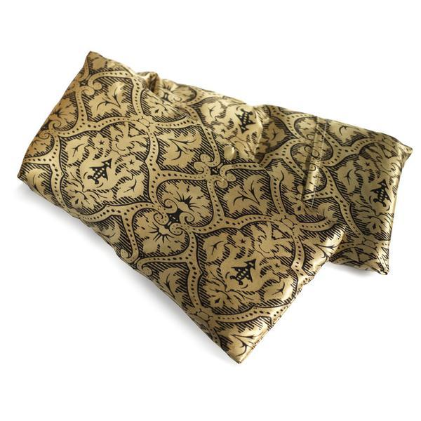 Hot/Cold Pack | Black and Gold Damask
