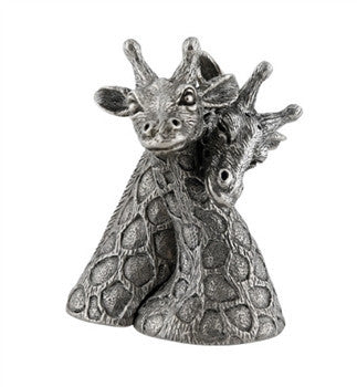 Pewter Giraffes Salt and Pepper Shaker - GDH | The decorators department Store